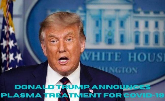 President of USA Donald Trump